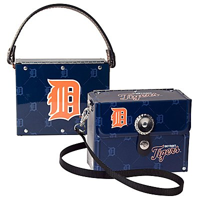 Detroit Tigers Littlearth Fanatic License Plate Purse Bag Gift