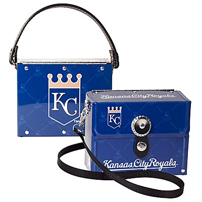 Kansas City Royals Littlearth Fanatic License Plate Purse Bag Gift