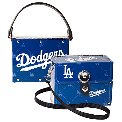 Los Angeles Dodgers Littlearth Fanatic License Plate Purse Bag Gift