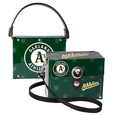 Oakland A's Athletics Littlearth Fanatic License Plate Purse Bag Gift