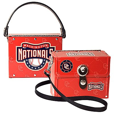 Washington Nationals Littlearth Fanatic License Plate Purse Bag Gift