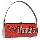 Arizona Diamondbacks Littlearth Fender Flair Purse Bag Swarovski Crystals Gift