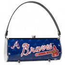Atlanta Braves Littlearth Fender Flair Purse Bag Swarovski Crystals Gift