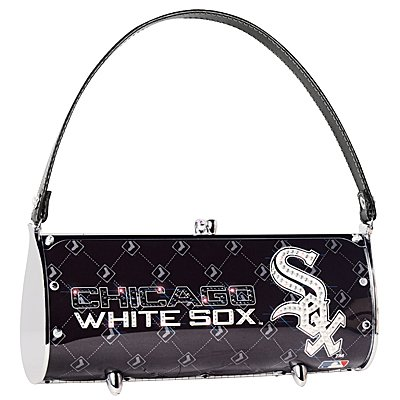 Chicago White Sox Littlearth Fender Flair Purse Bag Swarovski Crystals Gift