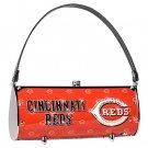 Cincinnati Reds Littlearth Fender Flair Purse Bag Swarovski Crystals Gift