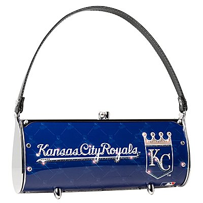 Kansas City Royals Littlearth Fender Flair Purse Bag Swarovski Crystals Gift