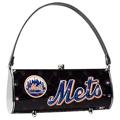 New York Mets Littlearth Fender Flair Purse Bag Swarovski Crystals Gift