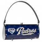 San Diego Padres Littlearth Fender Flair Purse Bag Swarovski Crystals Gift