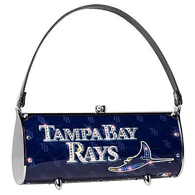 Tampa Bay Devil Rays Littlearth Fender Flair Purse Bag Swarovski Crystals