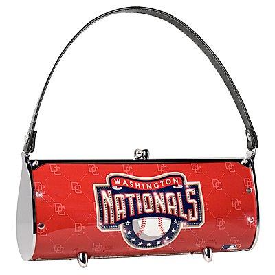 Washington Nationals Littlearth Fender Flair Purse Bag Swarovski Crystals Gift