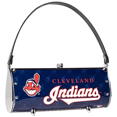 Cleveland Indians Littlearth Fender License Plate Purse Bag Gift
