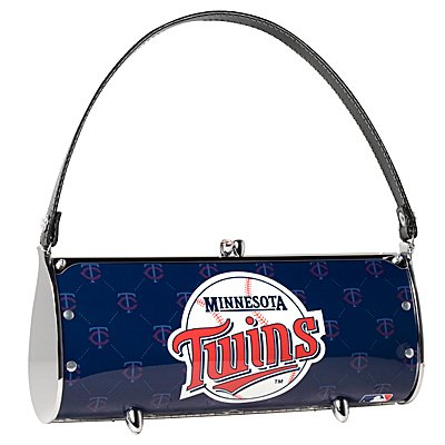 Minnesota Twins Littlearth Fender License Plate Purse Bag Gift