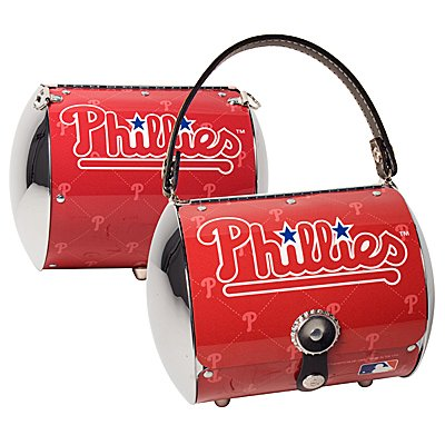 Philadelphia Phillies Littlearth Super Cyclone License Plate Purse Bag Gift