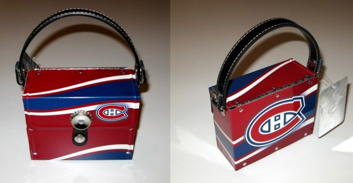 Montreal Canadiens Littlearth Fanatic License Plate Purse Bag Gift