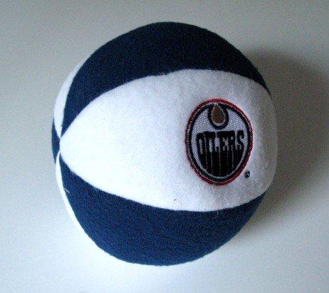 Edmonton Oilers Plush Ball Baby Rattle Toy Gift