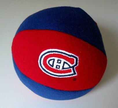 Montreal Canadiens Plush Ball Baby Rattle Toy Gift