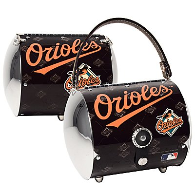 Baltimore Orioles Littlearth Super Cyclone License Plate Purse Bag Gift