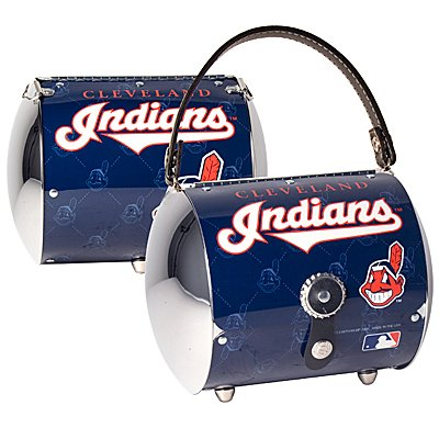 Cleveland Indians Littlearth Super Cyclone License Plate Purse Bag Gift