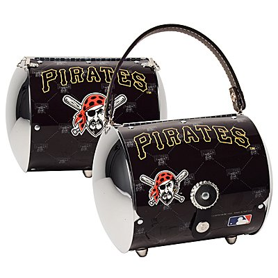 Pittsburgh Pirates Littlearth Super Cyclone License Plate Purse Bag Gift