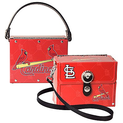 St. Louis Cardinals Littlearth Fanatic License Plate Purse Bag Gift