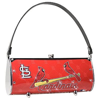 St. Louis Cardinals Littlearth Fender Flair Purse Bag Swarovski Crystals Gift