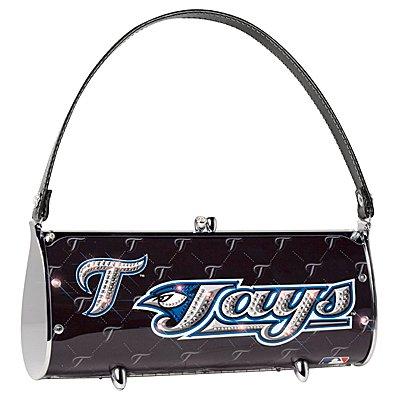 Toronto Blue Jays Littlearth Fender Flair Purse Bag Swarovski Crystals Gift