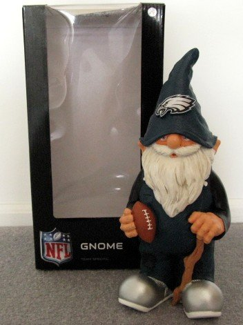 Philadelphia Eagles Football Garden Gnome Figure Indoor/Outdoor Gift