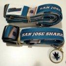 San Jose Sharks Pet Dog Leash Set Collar ID Tag Large