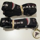 Atlanta Falcons Pet Dog Leash Set Collar ID Tag Gift Size Medium