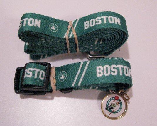 Boston Celtics Pet Dog Leash Set Collar ID Tag Small