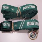 Boston Celtics Pet Dog Leash Set Collar ID Tag Large