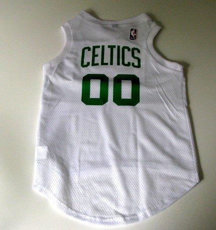 Boston Celtics Pet Dog Basketball Jersey Gift Size XL