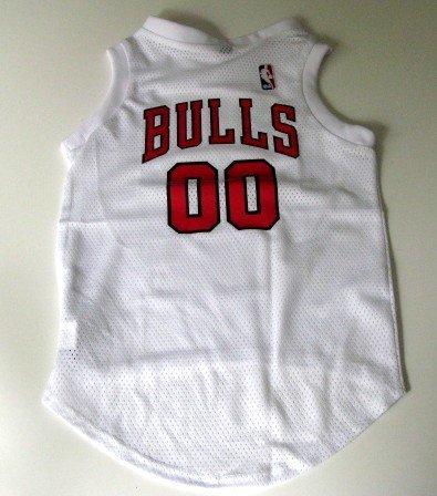 Chicago Bulls Pet Dog Basketball Jersey Gift Size Small