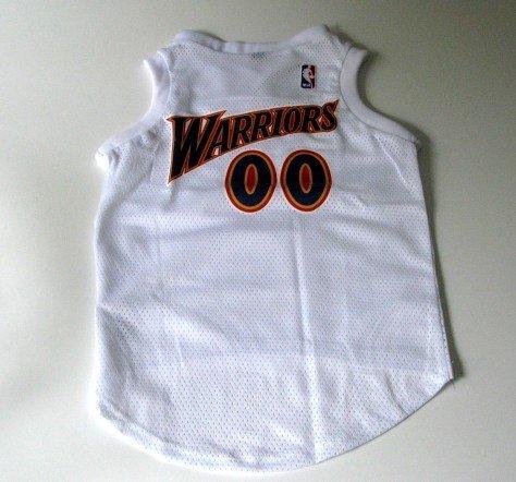 Golden State Warriors Pet Dog Basketball Jersey Gift Size Medium