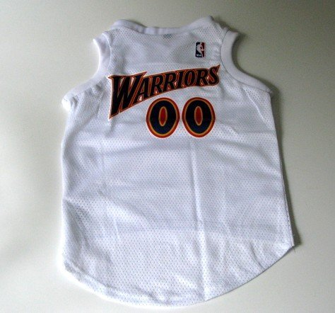 Golden State Warriors Pet Dog Basketball Jersey Gift Size Large