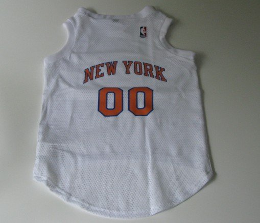 New York Knicks Pet Dog Basketball Jersey Gift Size Large
