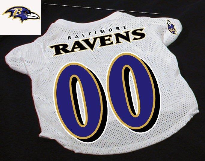 Baltimore Ravens Pet Dog Football Jersey Gift Large