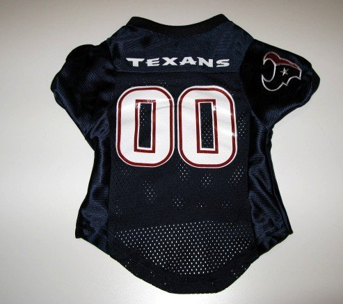 Houston Texans Pet Dog Football Jersey Premium Gift XL