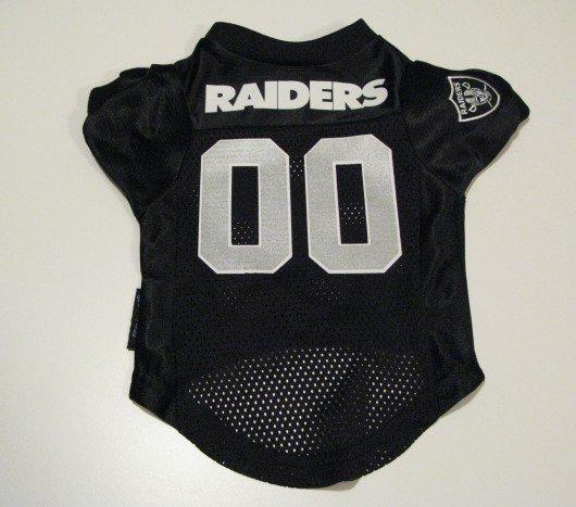 Oakland Raiders Pet Dog Football Jersey Premium Gift Large