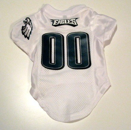 Philadelphia Eagles Pet Dog Football Jersey Premium Gift Small