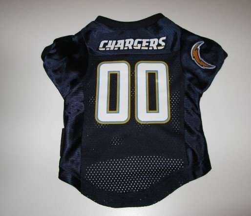San Diego Chargers Pet Dog Football Jersey Premium Gift Large