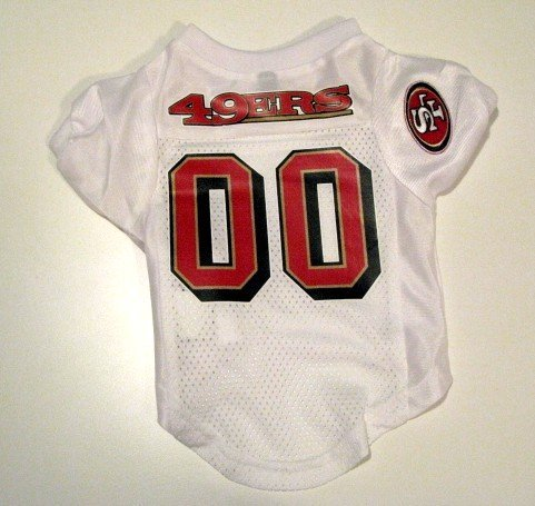 San Francisco 49ers Pet Dog Football Jersey Premium Gift Small