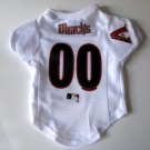Arizona Diamondbacks Pet Dog Baseball Jersey Shirt Premium Gift Small