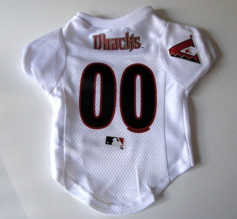 Arizona Diamondbacks Pet Dog Baseball Jersey Shirt Premium Gift Large