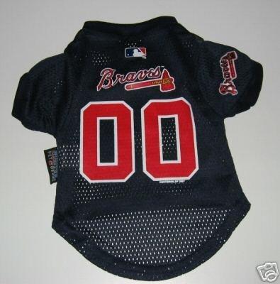 Atlanta Braves Pet Dog Baseball Jersey Gift Medium