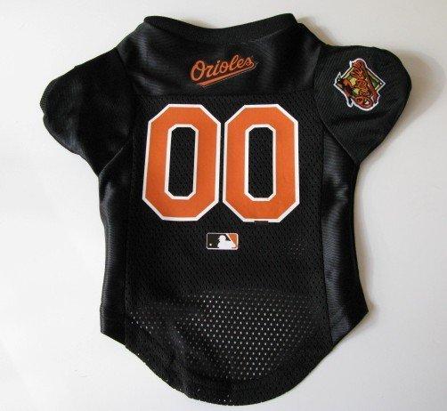 Baltimore Orioles Pet Dog Baseball Jersey Shirt Premium Gift Small