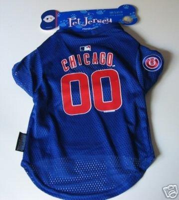 Chicago Cubs Pet Dog Baseball Jersey Gift Large