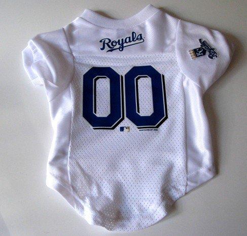 Kansas City Royals Pet Dog Baseball Jersey Shirt Premium Gift Large