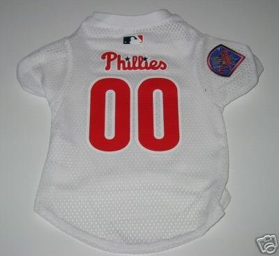 Philadelphia Phillies Pet Dog Baseball Jersey Gift Small