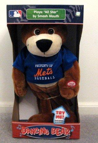 New York Mets Musical Dancing Bear Plays All-Star Cute Gift